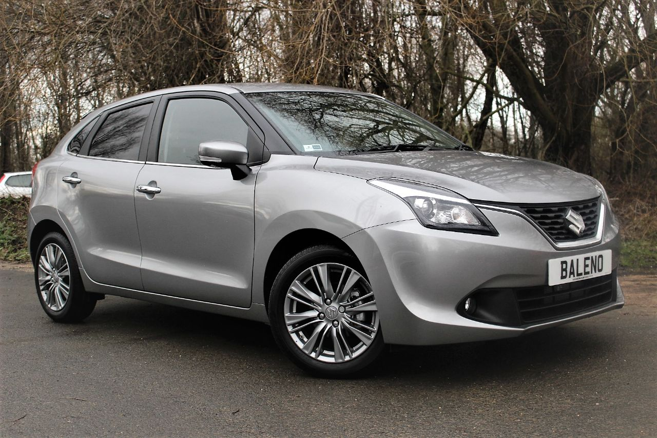 Suzuki Baleno 1.0 Boosterjet SZ5 5dr Auto, GREAT SAVING ON NEW Hatchback Petrol Premium Silver Metallic at Luscombe Qashqai Comparison Leeds