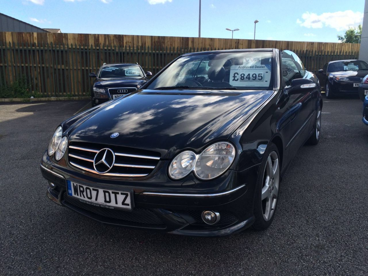 Mercedes-Benz CLK 3.7 350 Sport Convertible Petrol Black