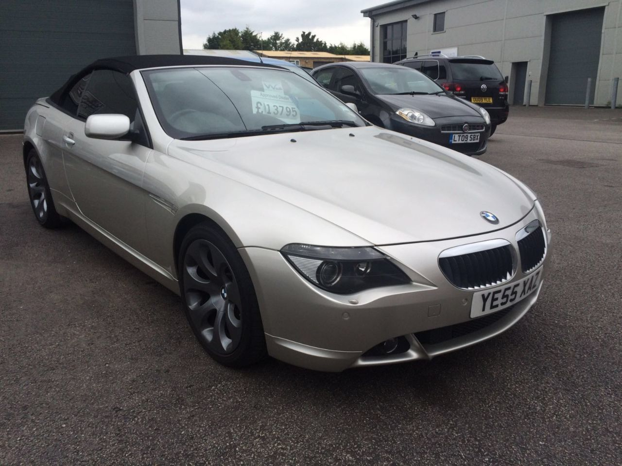 BMW 6 Series 3.0 630I Convertible Petrol Silver