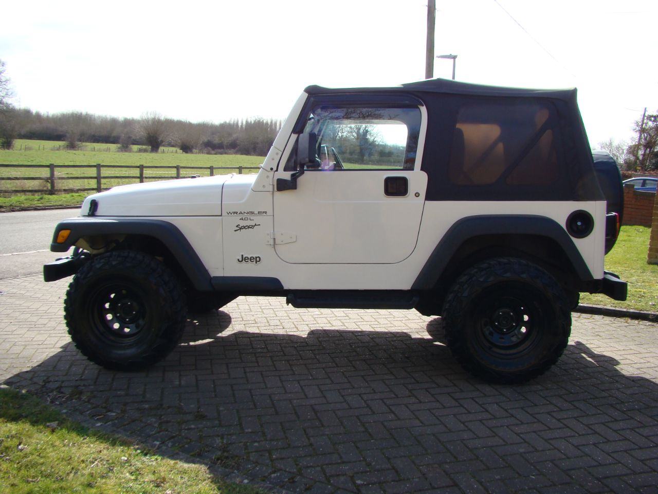 2001 Jeep Wrangler 4.0L Sport Soft Top Automatic