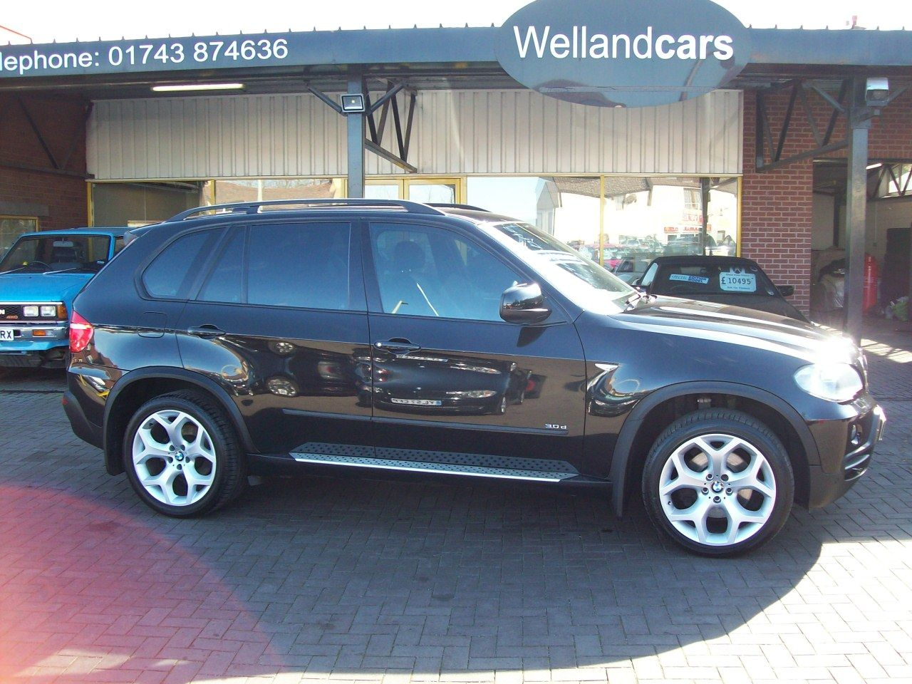 BMW X5 3.0d SE 5dr Auto [7 Seat] M Sport Spec, Full Service History, Full Leather and Nav, Huge Spec Estate Diesel Black at Welland Cars Shrewsbury