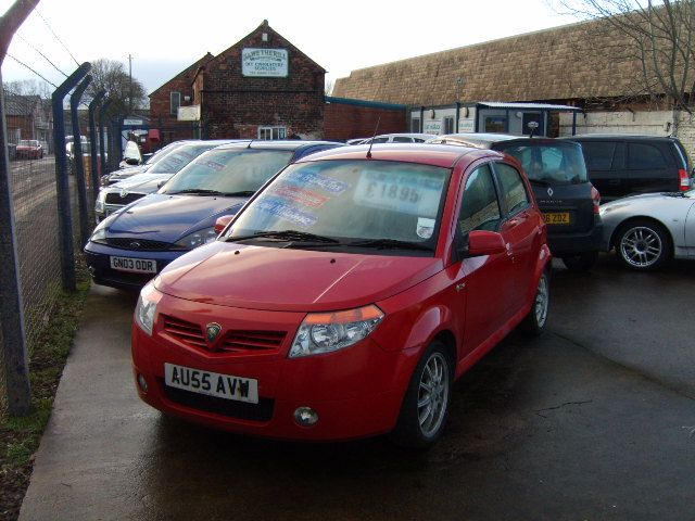 Proton Savvy 1.2 Style 5dr Hatchback Petrol Red at Ken Wallace Northallerton