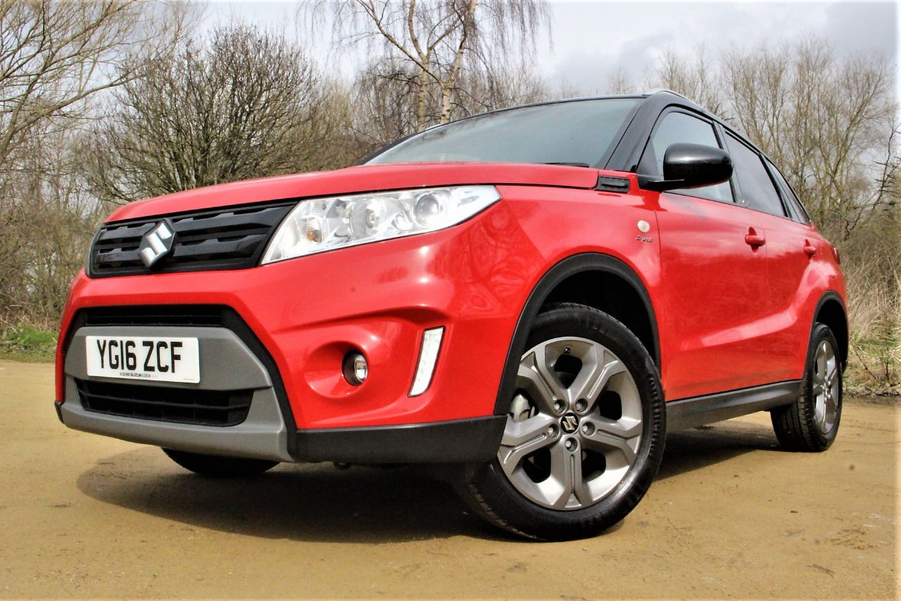 2016 Suzuki Vitara 1.6 SZ-T 5dr, ONE OWNER FROM NEW
