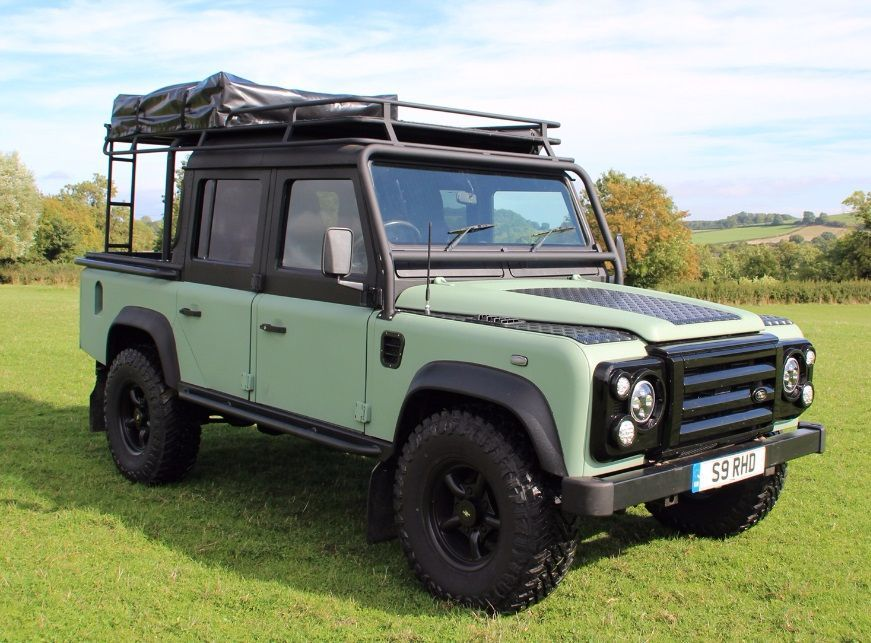 Land Rover Defender 2.5 XS Double Cab PickUp Td5 Pick Up Diesel Green