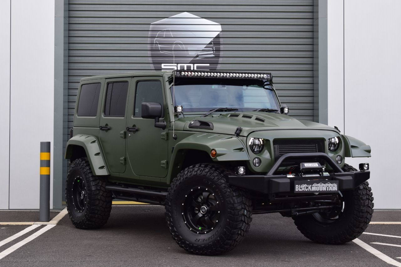 Jeep Wrangler 2.8 CRD Convertible Diesel Green