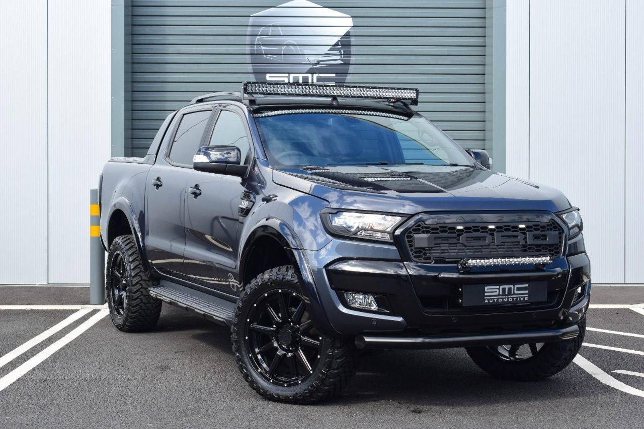 Ford Ranger Wildtrak 3.2 TDCi 4WD Double Cab SMC HAWK EDITION Pick Up Diesel Grey