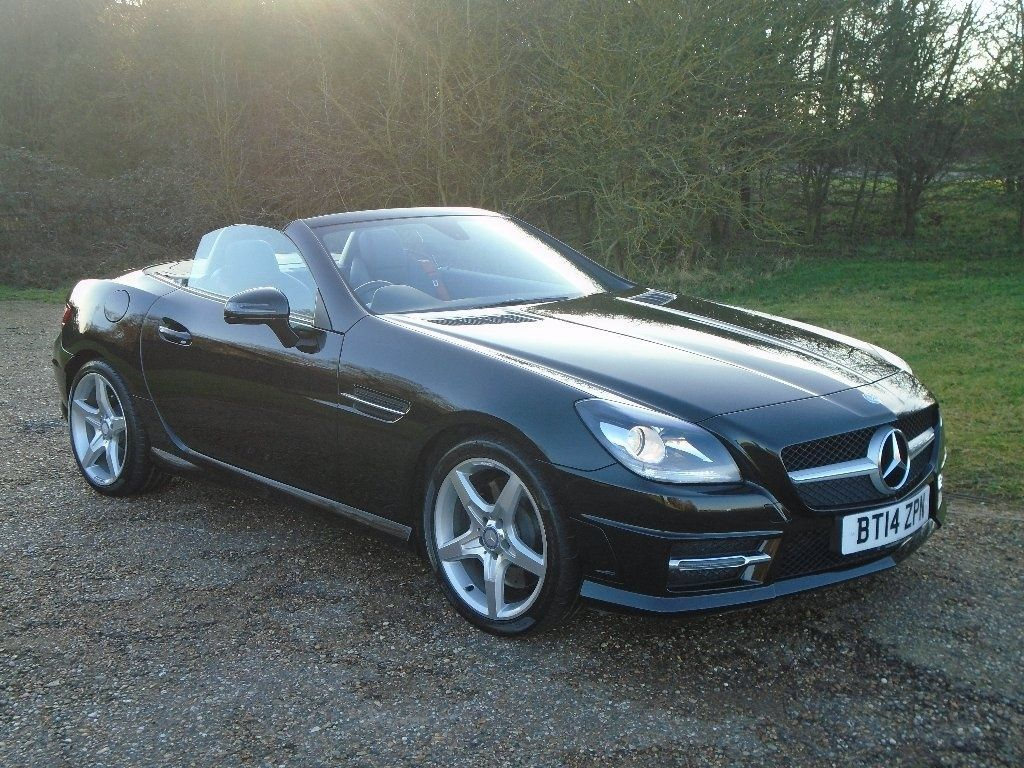Mercedes-Benz SLK 2.0 SLK 250 CDI BlueEFFICIENCY AMG Sport 2dr Tip Auto Convertible Diesel Black