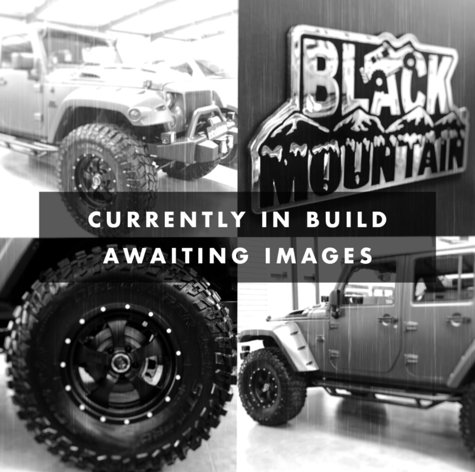Jeep Wrangler BRUTE 3.6 SUPERCHARGED 400 BLACK MOUNTAIN RUBICON DOUBLE CAB PICK UP Pick Up Petrol Grey