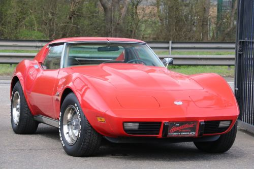 Chevrolet Corvette American Classic Car 5.7 V8 T Top Auto Coupe Petrol Bright Red