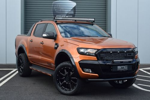 Ford Ranger Wildtrak 3.2 TDCi 4WD Double Cab SMC HAWK EDITION Pick Up Diesel Orange