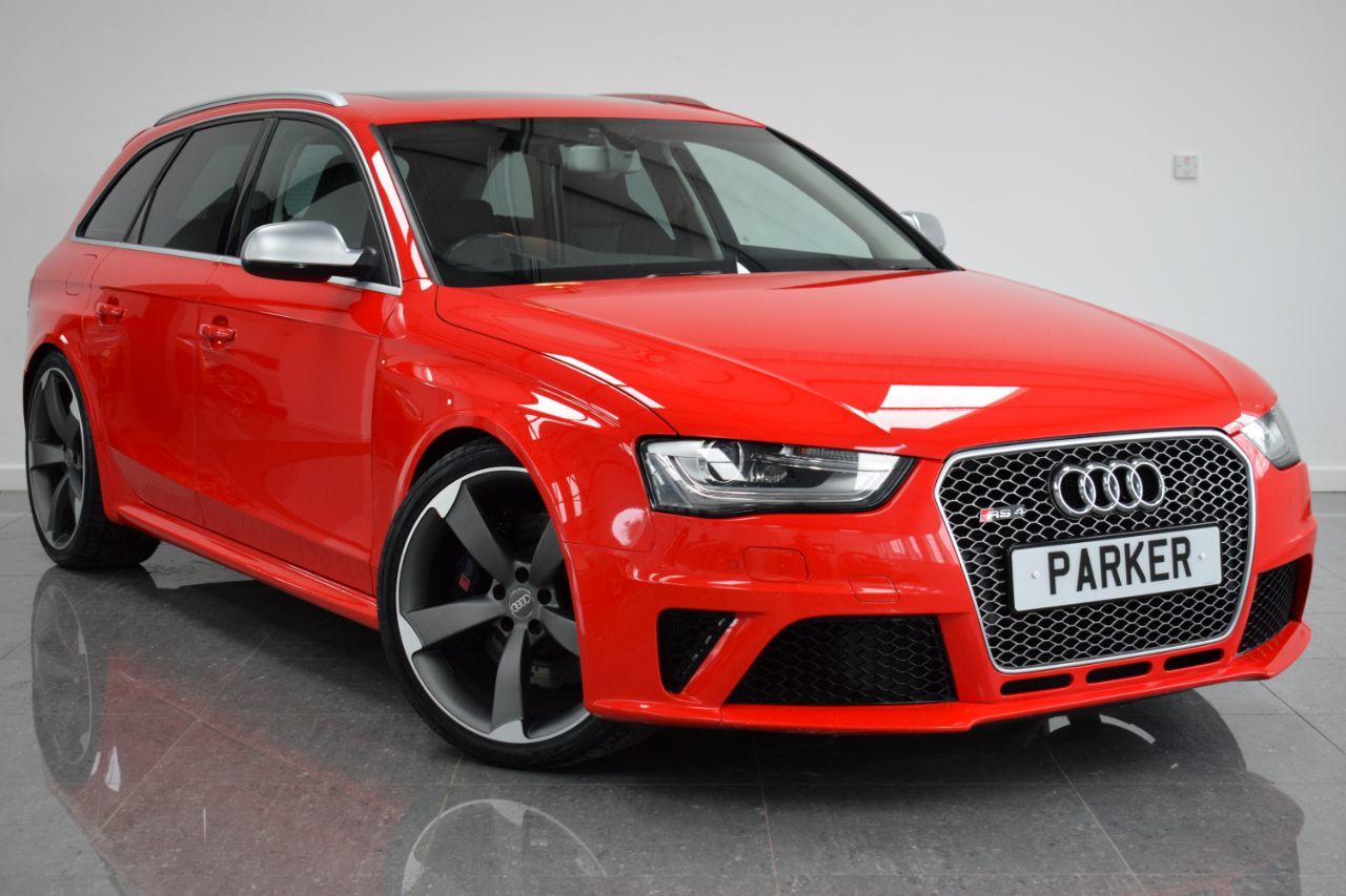 Audi RS4 4.2 FSI Quattro 5dr S Tronic Estate Petrol Misano Red