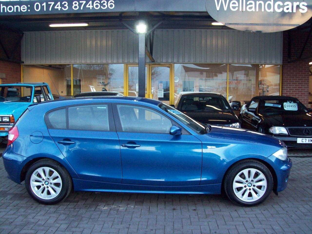 BMW 1 Series 2.0 118d SE 5dr 6 Speed Diesel Manual, Comfort Pack, A/C, F/S/H Hatchback Diesel Blue at Welland Cars Shrewsbury