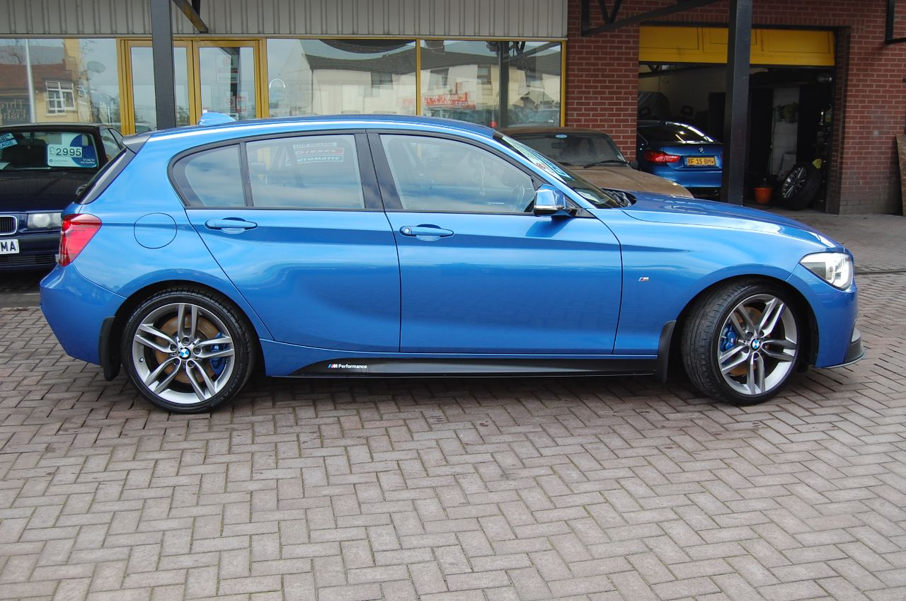 used bmw 1 series 118d m sport performance 2 0 turbo diesel 6 speed manual 1 previous owner. Black Bedroom Furniture Sets. Home Design Ideas