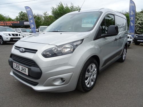 Ford Transit Connect 220 1.6TDCI l2 Trend Pv Van Diesel Silver