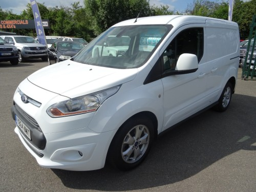 Ford Transit Connect 200 1.6tdci Limited Pv Van Diesel White