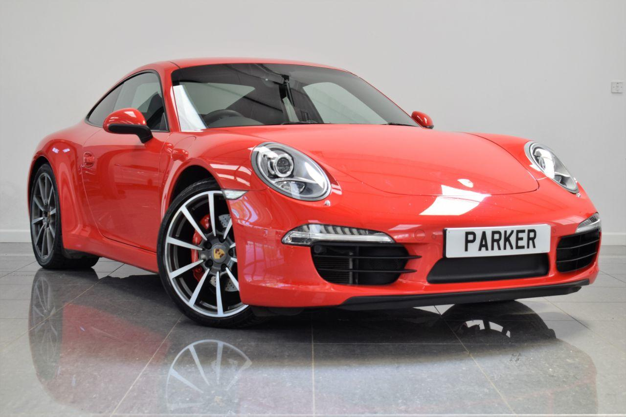 Porsche 911 3.8 S 2dr PDK Coupe Petrol Guards Red