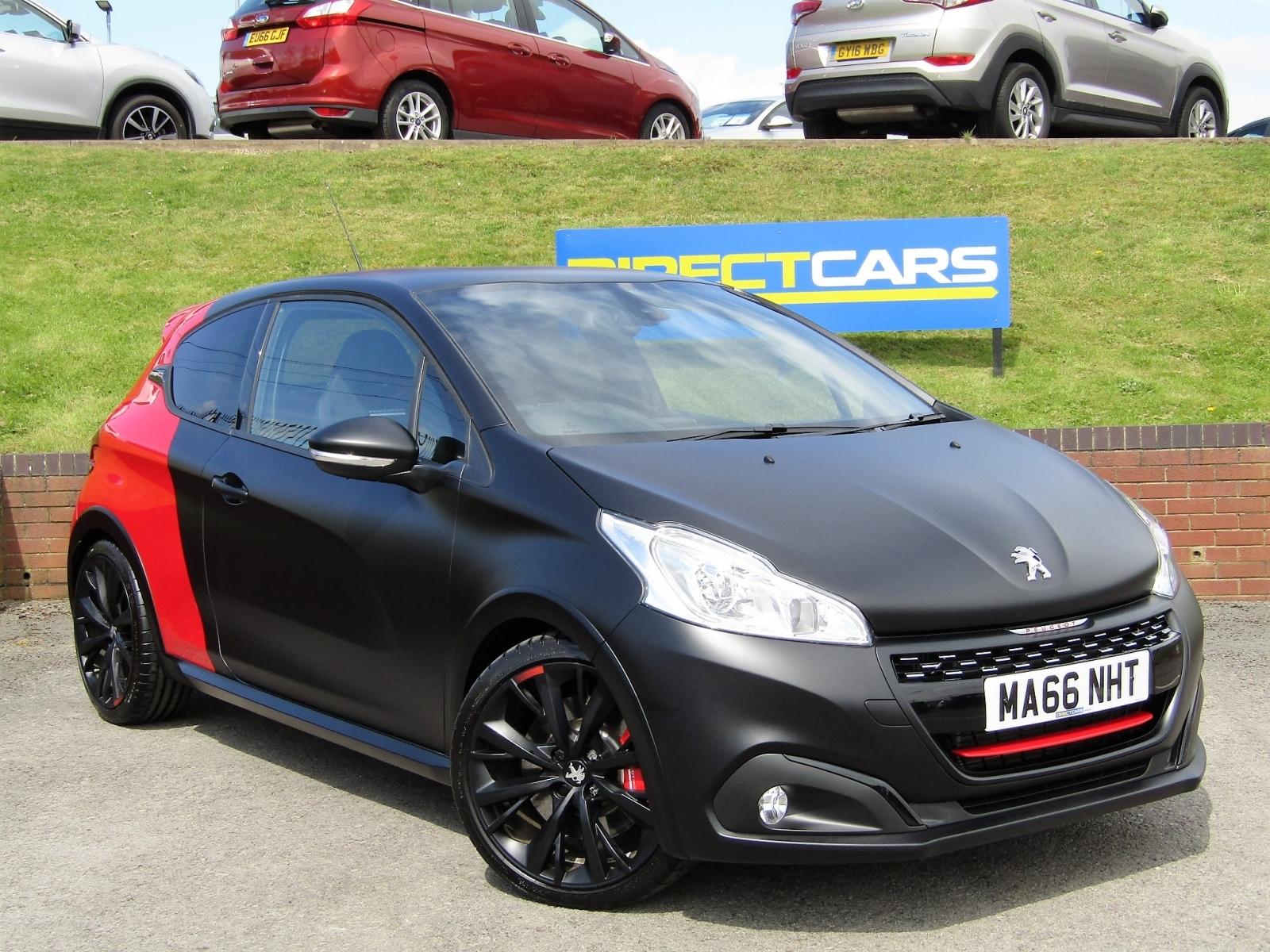 Peugeot 208 1.6 Gti By Peugeot Sport Turbo 205 3 Hatch Petrol Hatch Petrol Coupe Franche Red/black