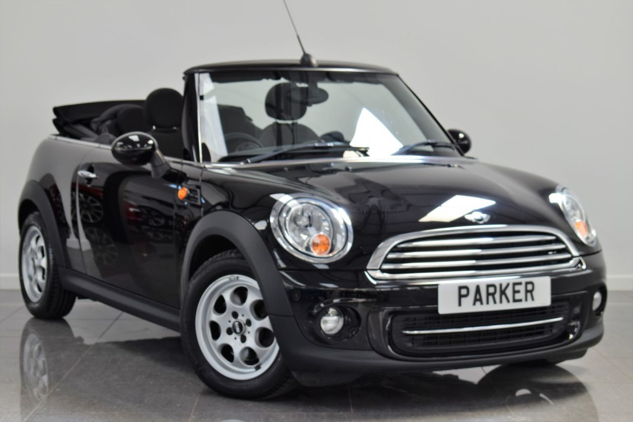 Mini Convertible 1.6 Cooper 2dr Convertible Petrol Midnight Black