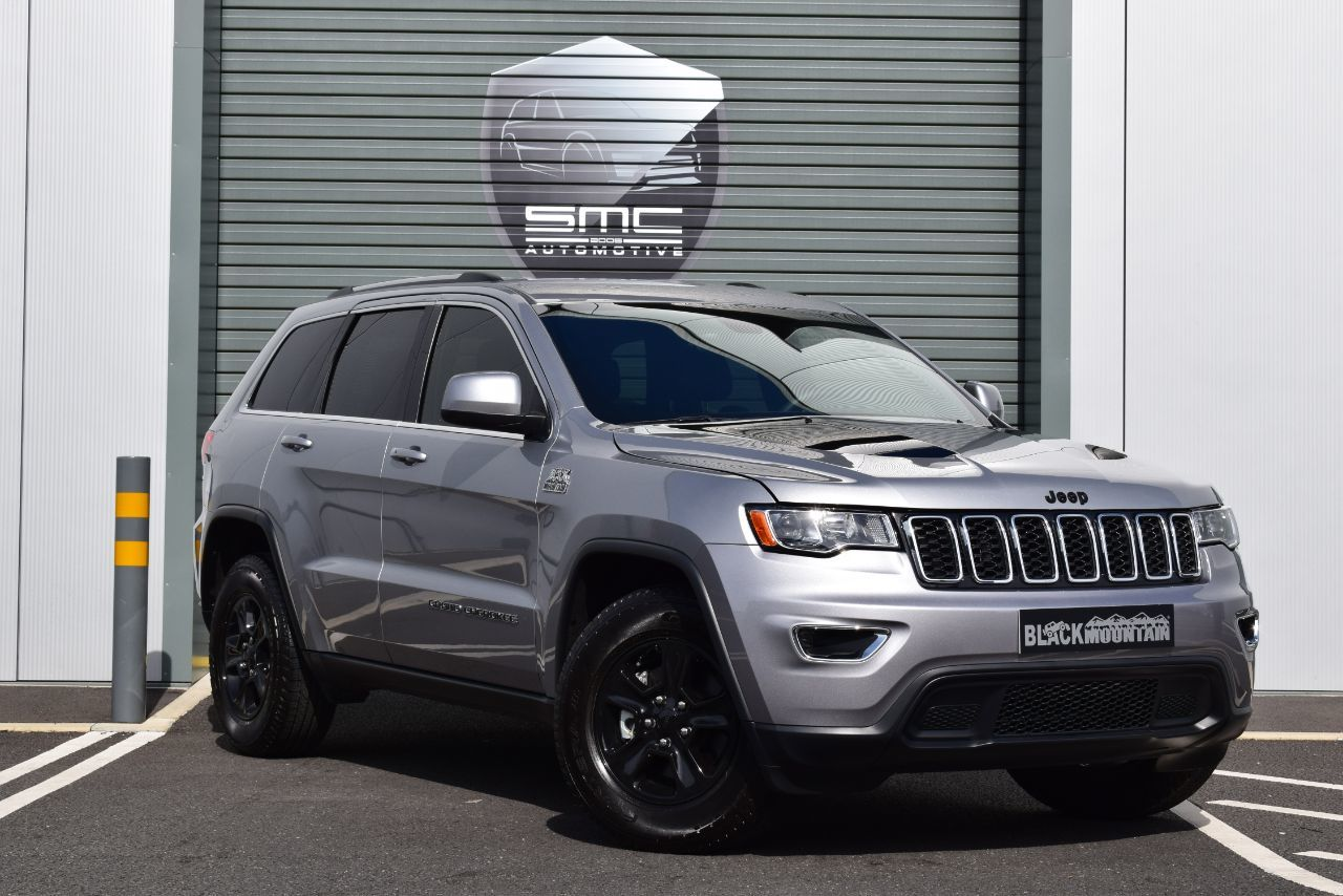 Jeep Grand Cherokee 3.6 Black Mountain Edition Four Wheel Drive Petrol Silver