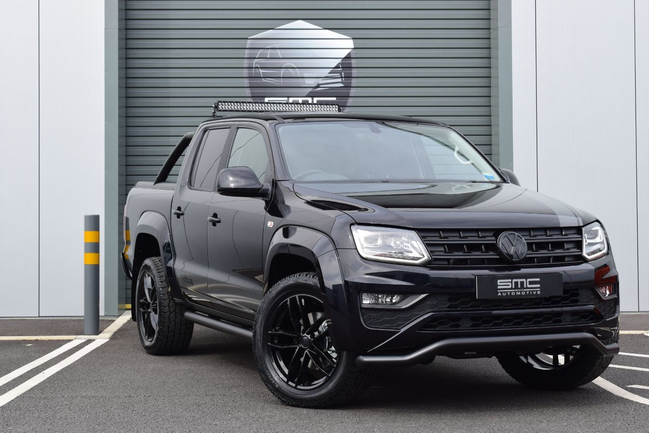 Volkswagen Amarok 3.0 TDI 4Motion Highline 224PS Pick Up Diesel Black
