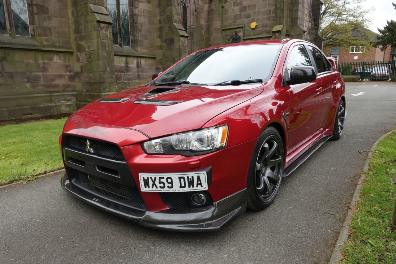 Mitsubishi Lancer Evolution X 2.0 GSR FQ-360 4dr Saloon Petrol Red