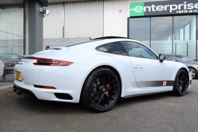 Porsche 911 3.0 GTS 2dr PDK BRITISH LEGENDS EDITION Coupe Petrol Carrera White Metallic