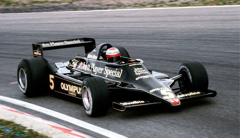 Five of the Best F1 Cars of All Time - Lotus 79, 1978
