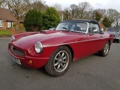 MG MGB 2.0 mgb b Convertible Petrol Red