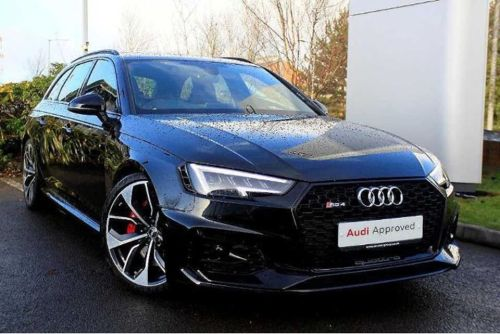 Audi RS4 Avant 2.9 TFSI BRAND NEW UN-REGISTERED EVERY EXTRA LISTED OVER 80K NEW Estate Petrol Black