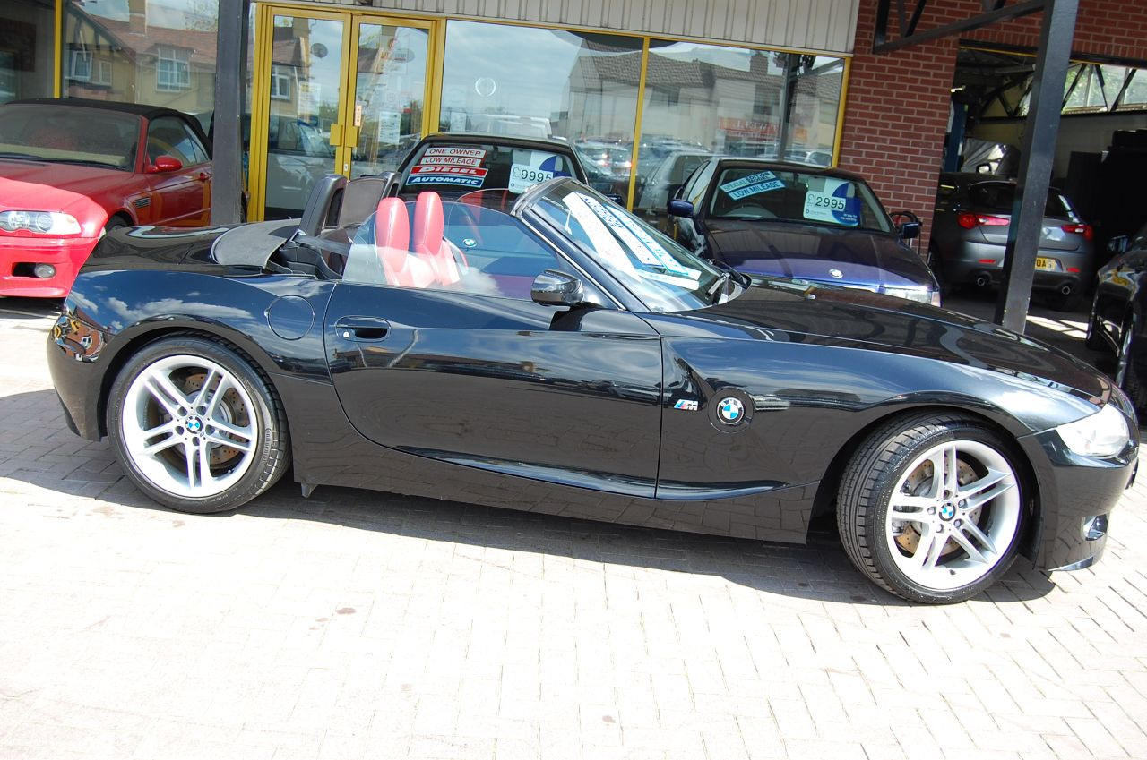 2006 BMW Z4m 2006 06 BMW Z4M 3.2 ROADSTER, GENUINE M POWER CAR, LOW MILES, BLACK- RED LEATHER