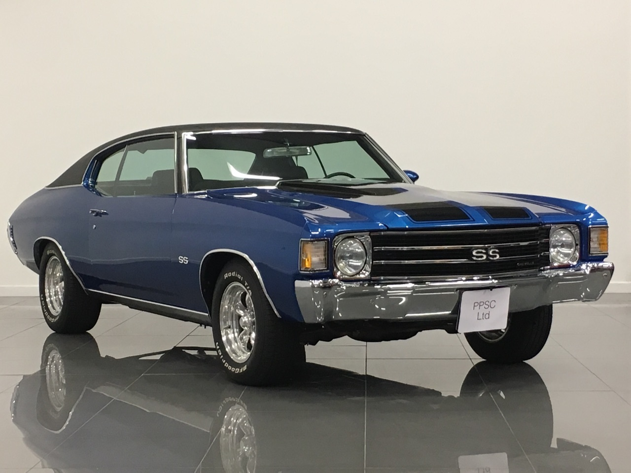 Chevrolet Chevy 5.7 Chevelle Coupe Petrol Metallic Ocean Blue