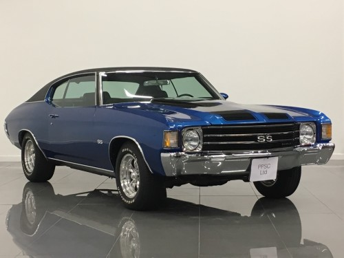 Chevrolet Chevy 5.7 Chevelle Coupe Petrol Metallic Hawaiian Blue