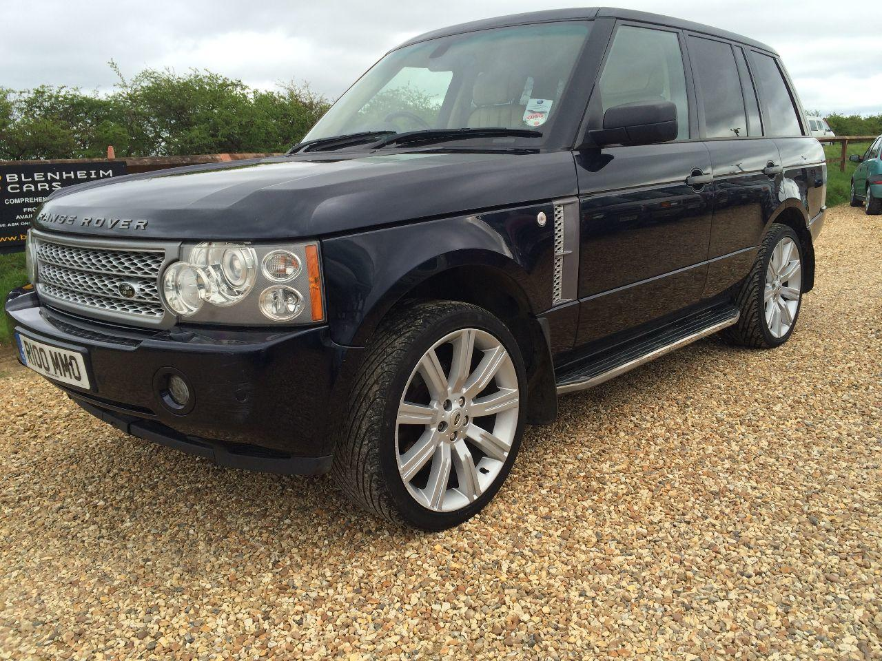 Land Rover Range Rover 3.0 Td6 VOGUE AUTO FULL SERVICE HISTORY FACE LIFT MODEL Four Wheel Drive Diesel Blue