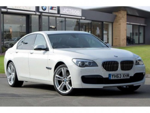 BMW 7 Series 3.0 M Sport Saloon Diesel Alpine White