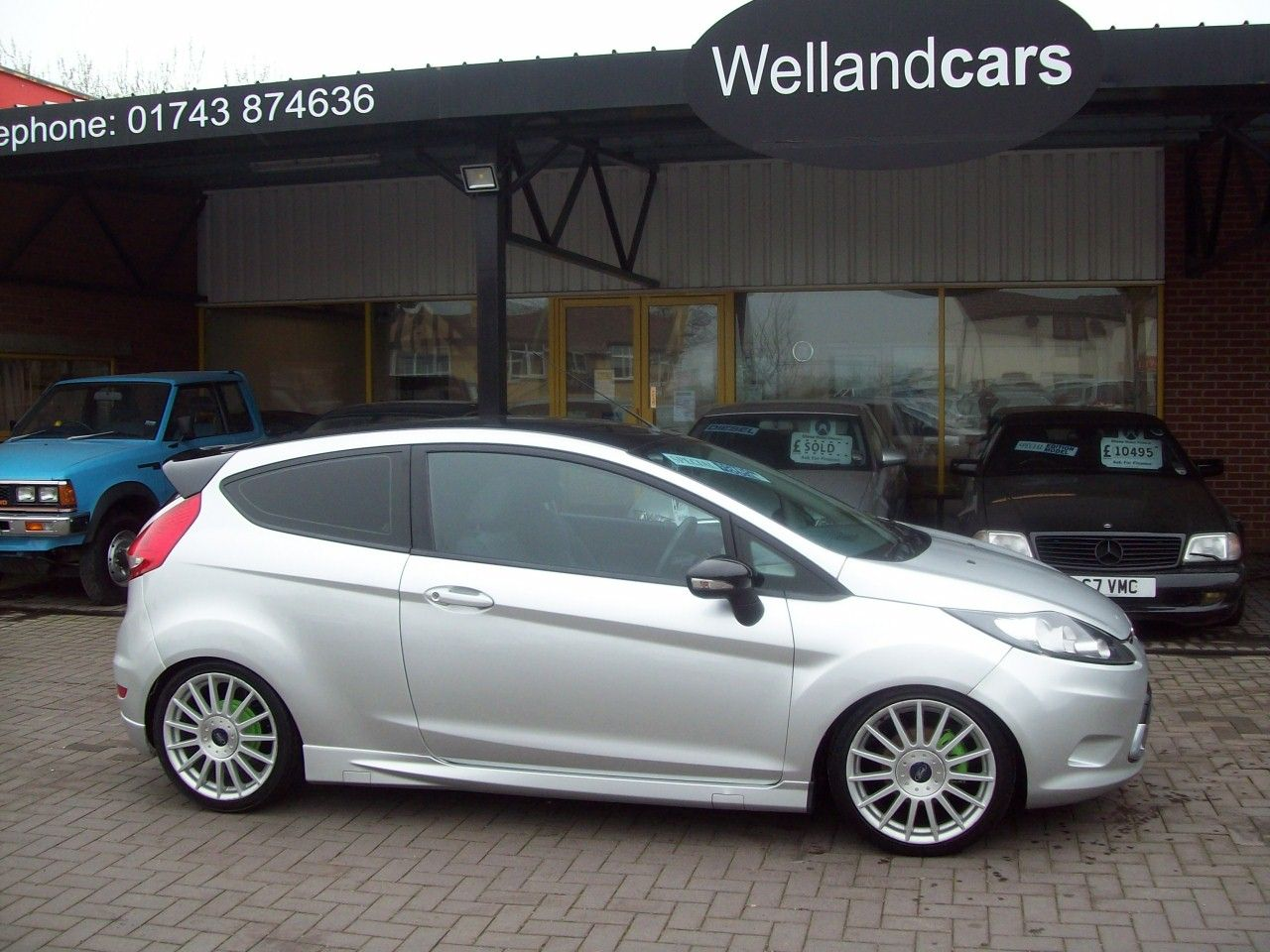 Ford Fiesta 1.25 Style + 3dr [82] A/C, 1 Previous Owner, Zetec `S` Street Pack Body Kit With 17 Alloys. Hatchback Petrol Silver at Welland Cars Shrewsbury