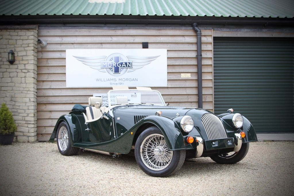 Morgan Roadster V6 3.7 Convertible Petrol British Racing Green