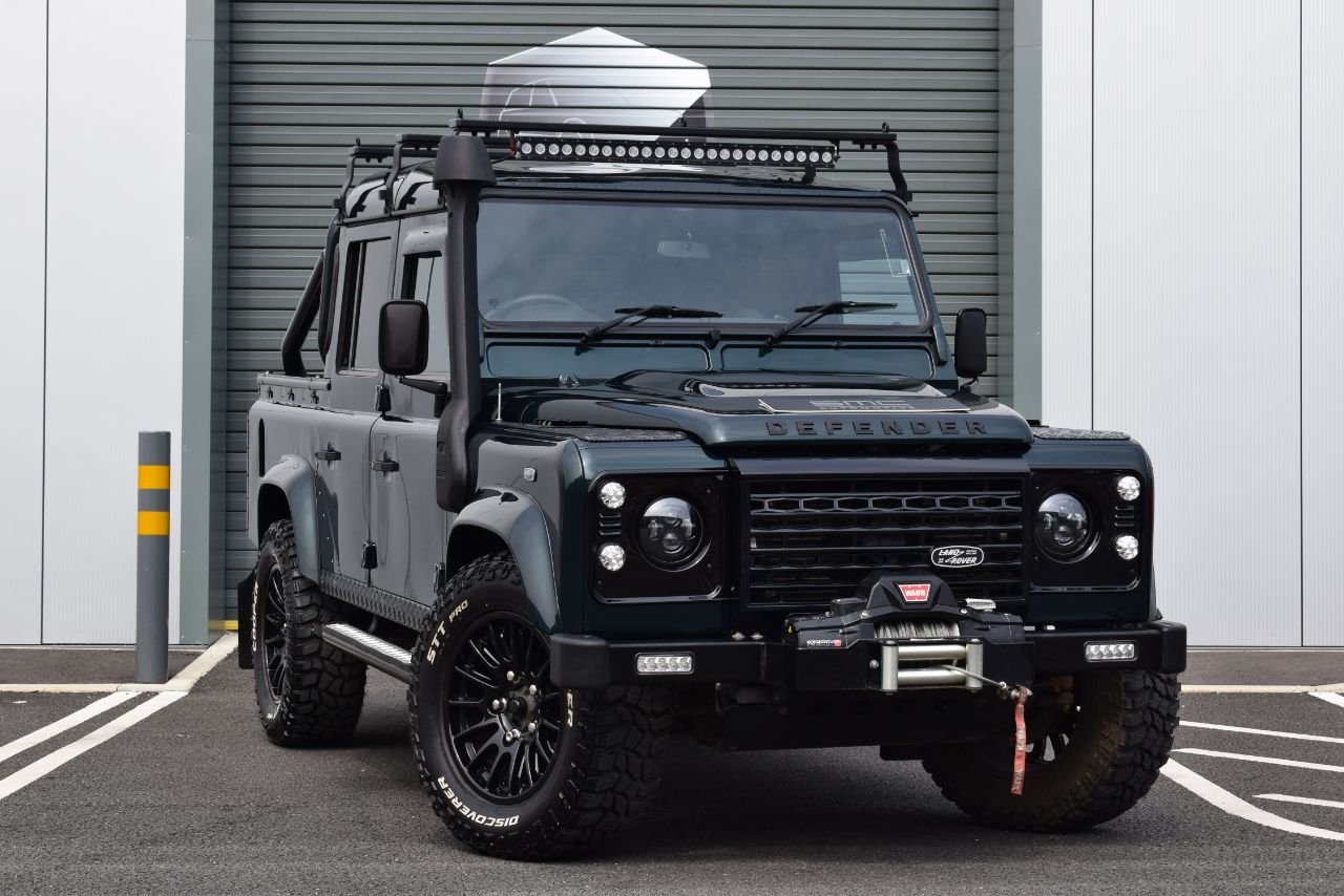 Land Rover Defender XS Double Cab PickUp TDCi [2.2] Pick Up Diesel Green