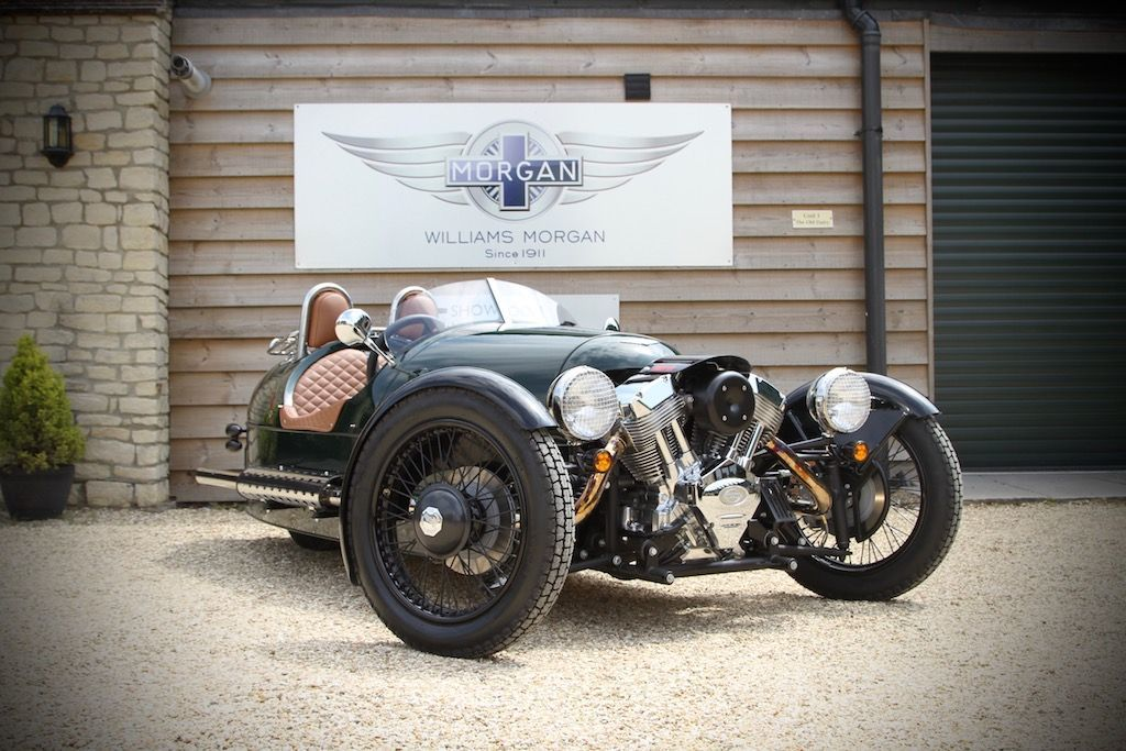 Morgan 3 Wheeler 2.0 EU3 Coupe Petrol Sport Green