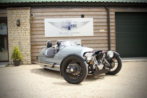 Morgan 3 Wheeler 2.0 EU3 Coupe Petrol Dove Grey