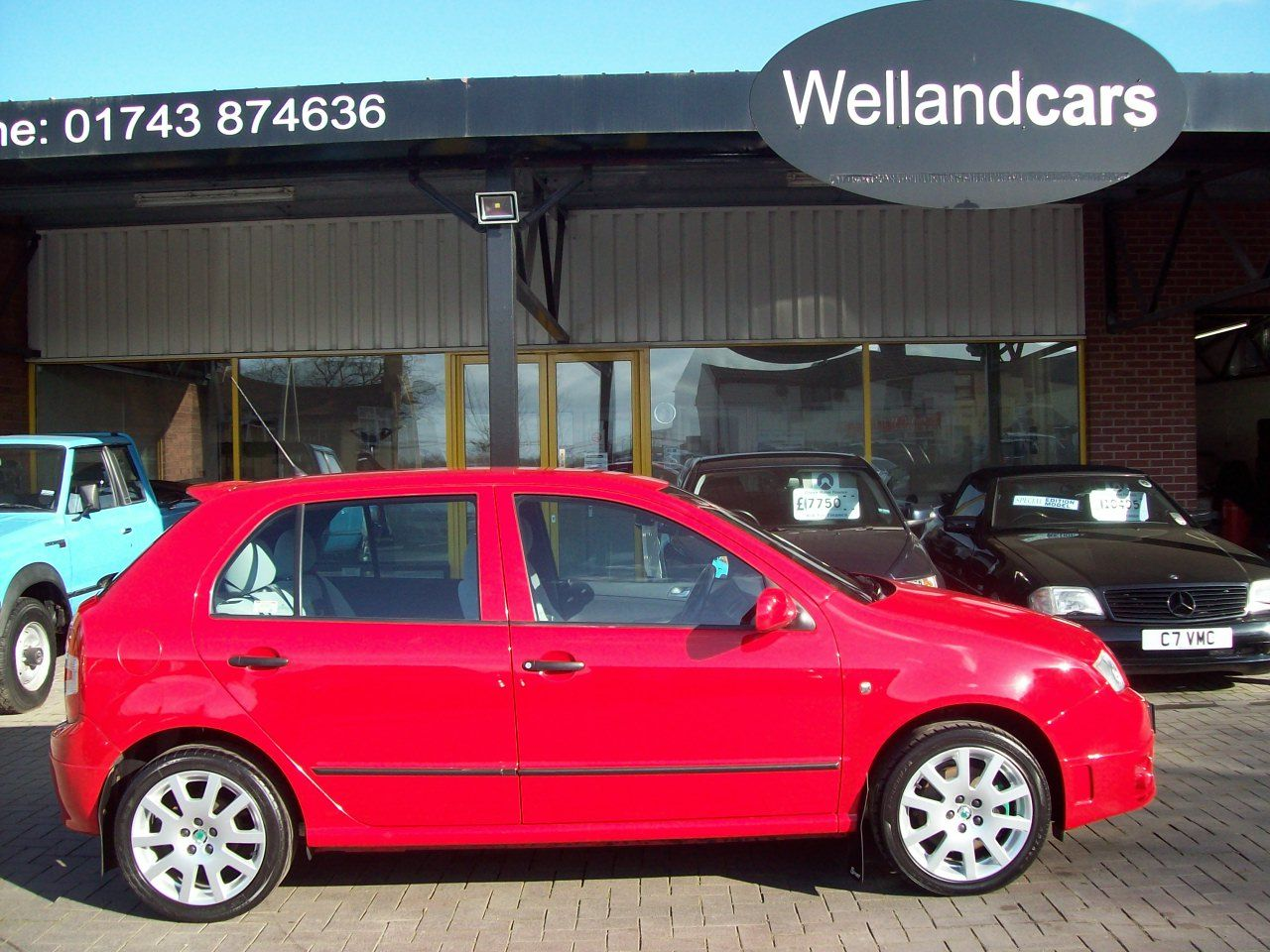 Skoda Fabia 1.9 TDI PD 130 vRS 5dr Sport, 6 Speed Manual, 1 Previous owner, Full service history (9 stamps). Hatchback Diesel Red at Welland Cars Shrewsbury