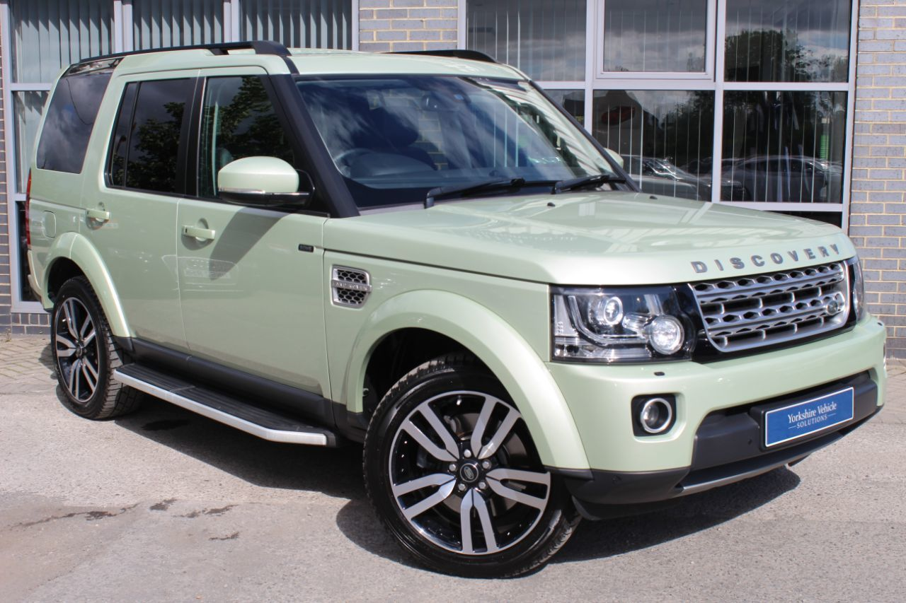 Land Rover Discovery 4 3.0 SDV6 HSE Luxury 5dr Auto Estate Diesel Green