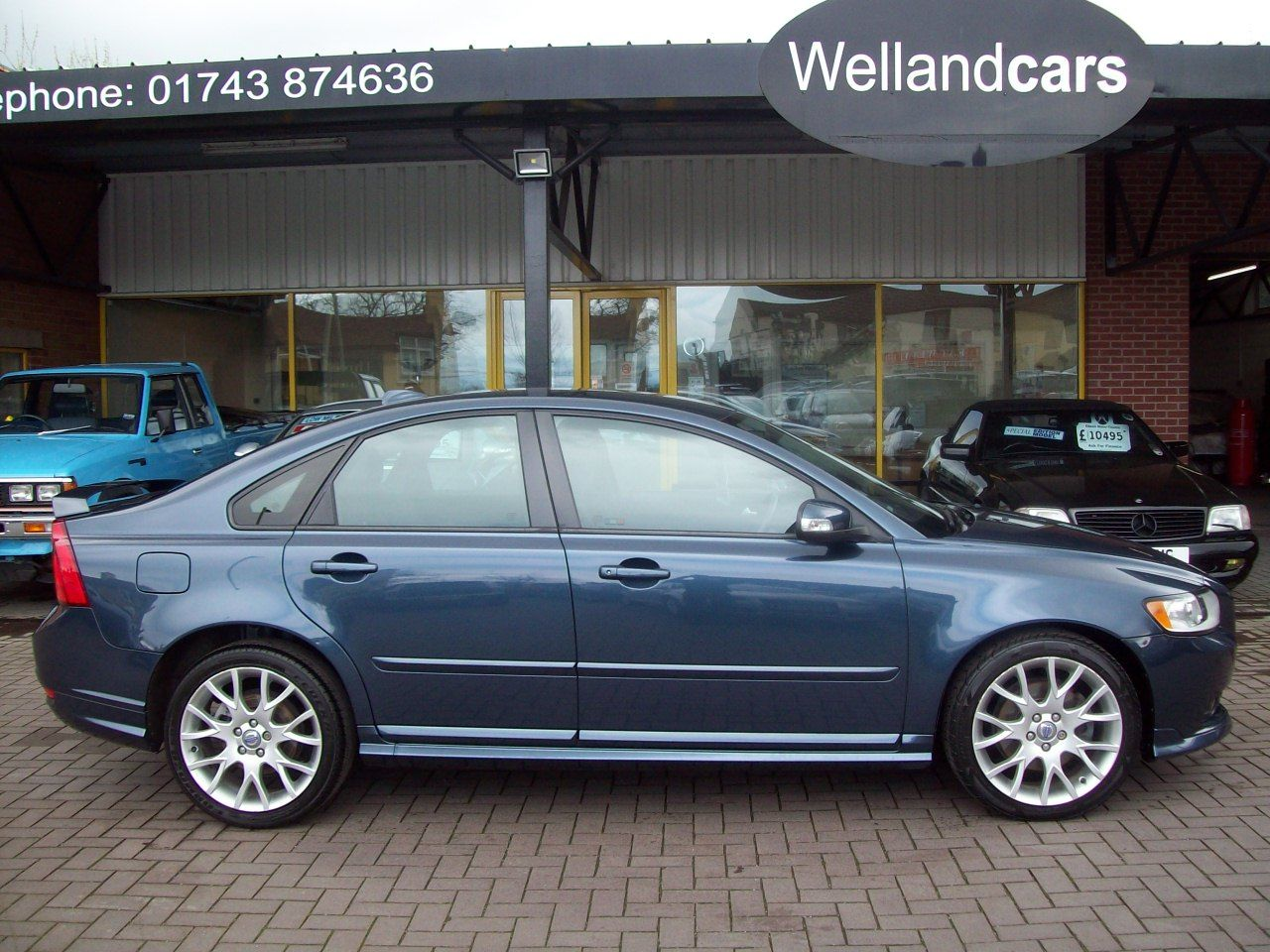 Volvo S40 2.0D Sport 4dr Saloon 6 Speed Manual, 1 Previous Owner, F/S/H, Lovely Example. Saloon Diesel Blue at Welland Cars Shrewsbury