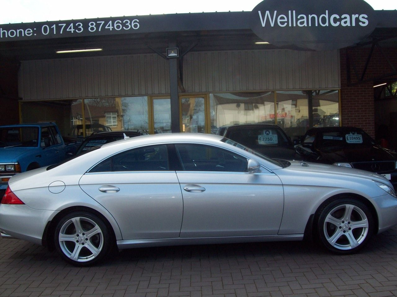 Mercedes-Benz CLS 3.0 CLS320 CDI 4dr Tip Auto Air Suspension,Comand,Full Leather,32k Miles, Full MB S/H, 1 Previous Owner Coupe Diesel Silver at Welland Cars Shrewsbury