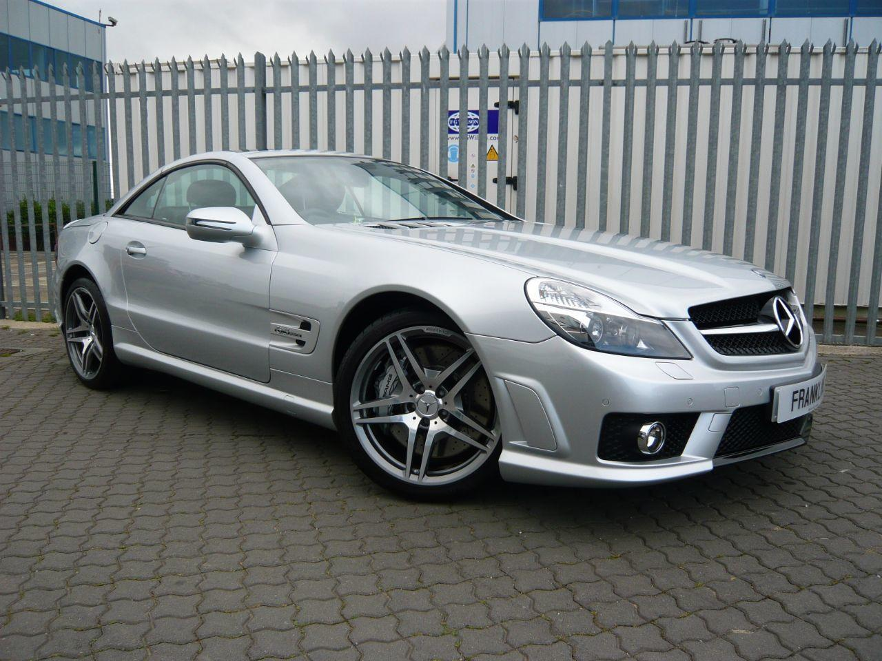 Mercedes-Benz SL Class 6.2 SL63 AMG Performance Pack Convertible Petrol Silver