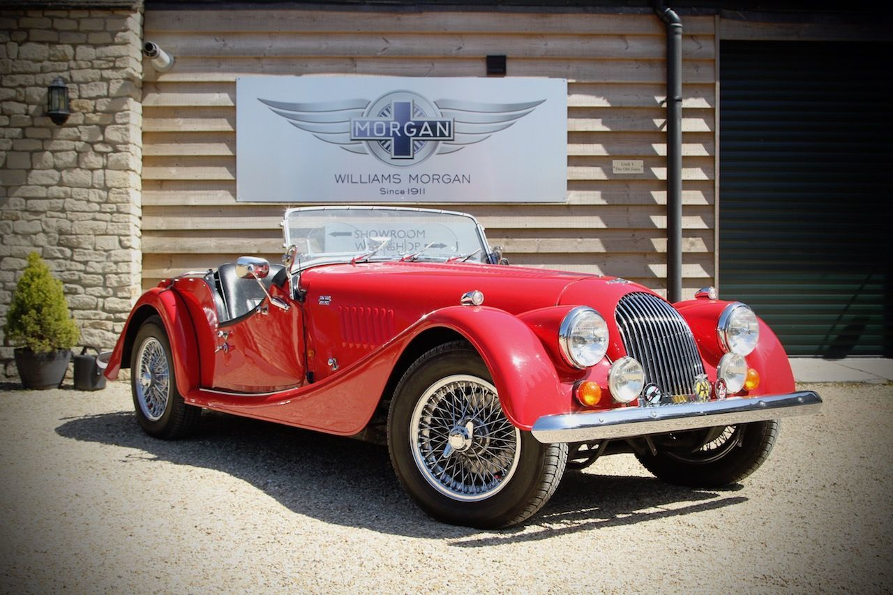 Morgan 4/4 1800 1.8 1800 Convertible Petrol Corsa Red