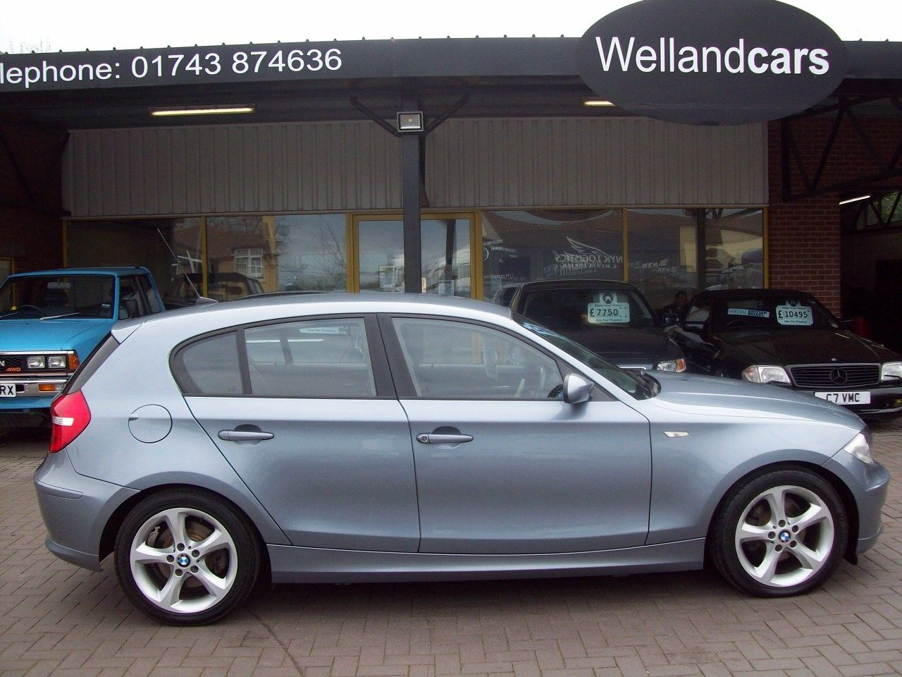 BMW 1 Series 2.0 118d SE 5dr Sport Edition, 6 Speed Manual, Dynamic Pack, F/S/H, Only 1 Previous Owner Hatchback Diesel Blue at Welland Cars Shrewsbury