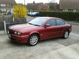 Jaguar X-Type 2.0 SPORT Saloon Diesel Red