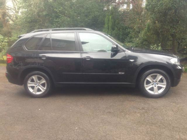 BMW X5 3.0 SD SE Estate Diesel Black