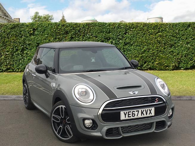 Mini Cooper S 2.0 Hatchback Diesel Moonwalk Grey
