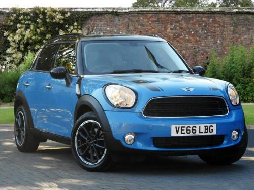 Mini Cooper D 1.6 Countryman Diesel Kite Blue